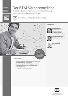 Live Online Seminar: Der BTM-Verantwortliche
