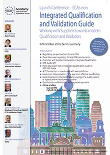 Launch Conference -  ECA's new Integrated Qualification and Validation Guide <br>Im Auftrag der ECA Academy